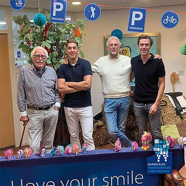 Evan met pensioen | klinische avond Amersfoort | Barnevelds tandtechnisch laboratorium