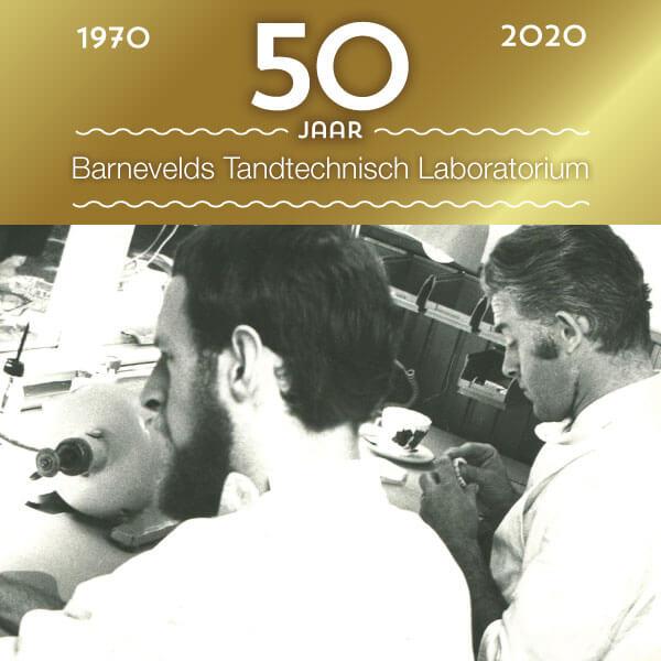 50 jarig jubileum | Barnevelds Tandtechnisch Laboratorium